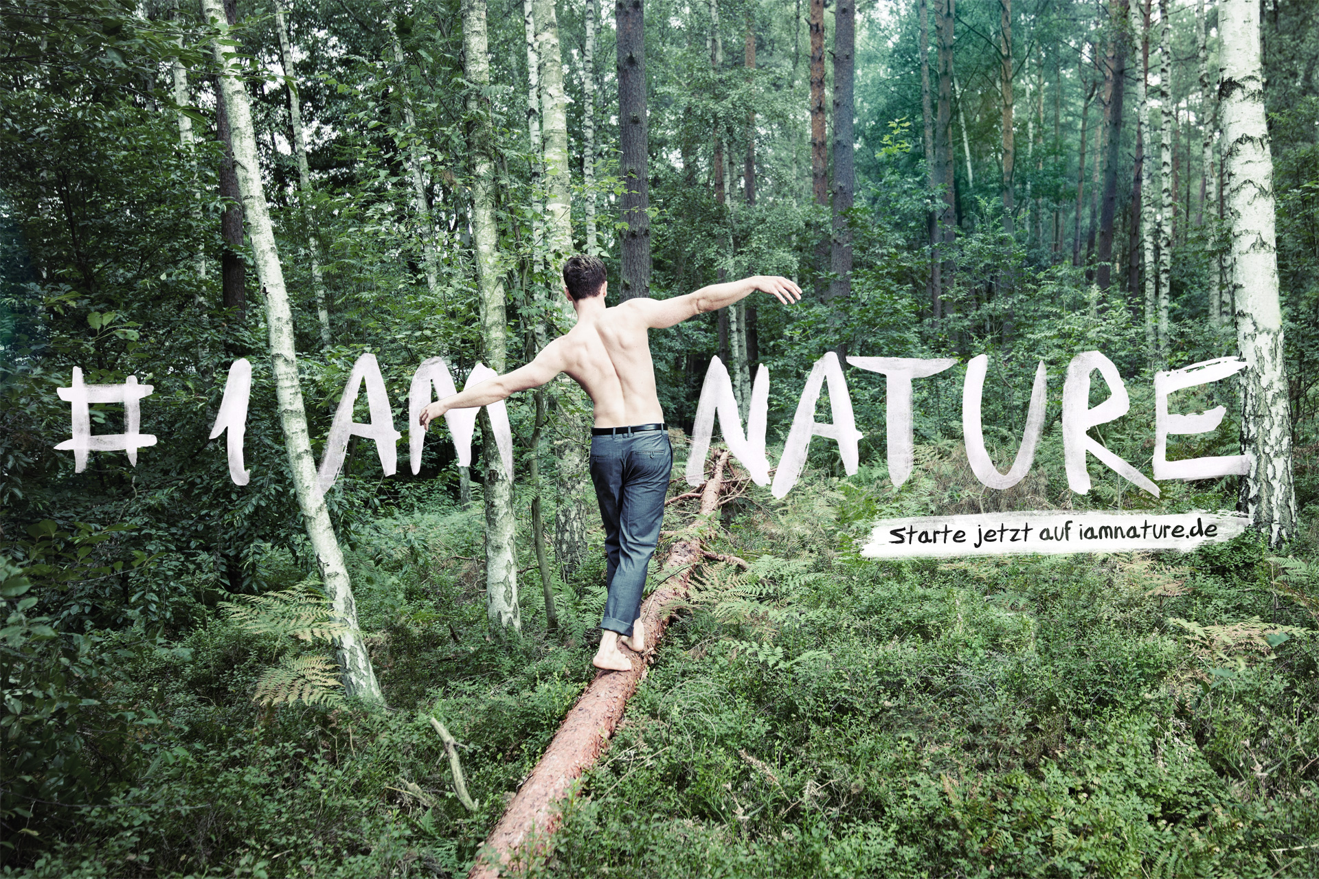 Plakatmotiv #iamnature