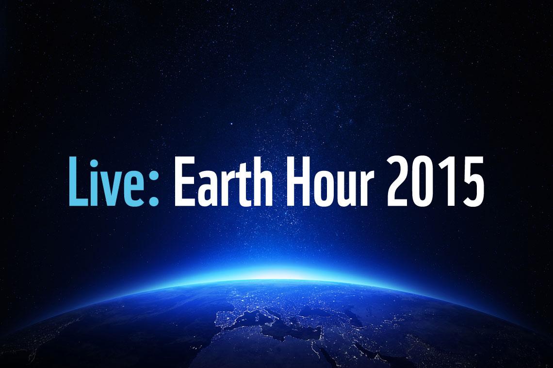 Die WWF Earth Hour 2015 findet am 28. März 2015 um 20:30 Uhr statt.