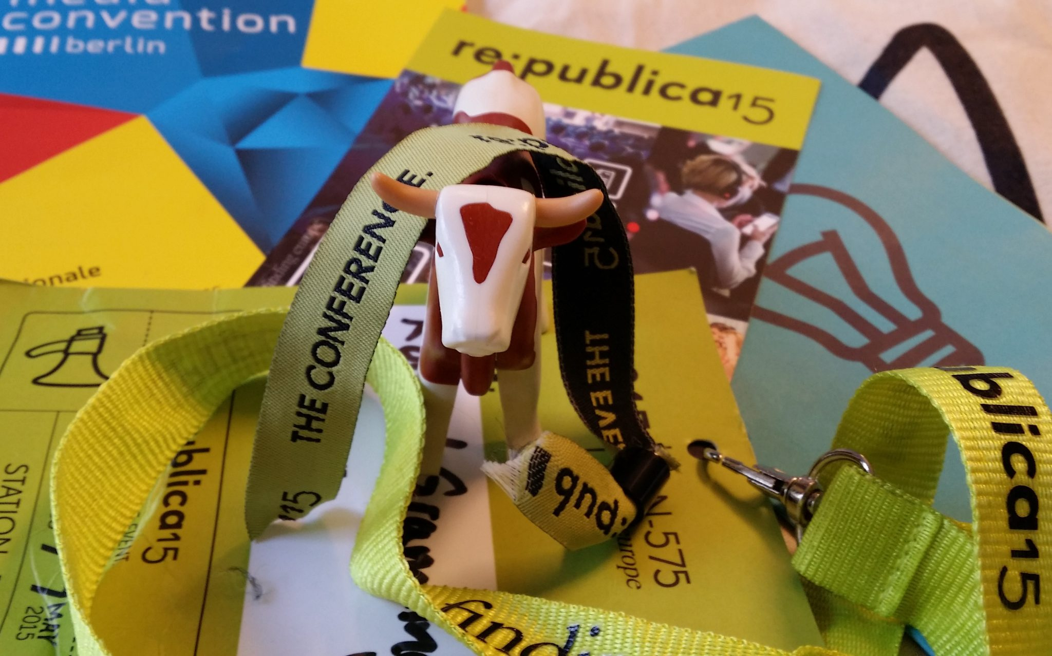 Der Coup (sprich Kuh) der Woche auf der re:publica (sprich #rp15)