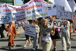 Mit fossilen Brennstoffen wird das 2-Grad-Ziel nicht zu halten sein. © Melanie Gömmel / WWF
