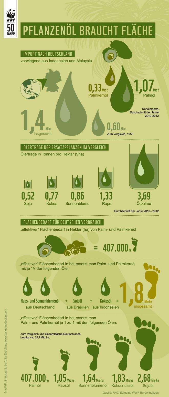 Infografik Palmöl