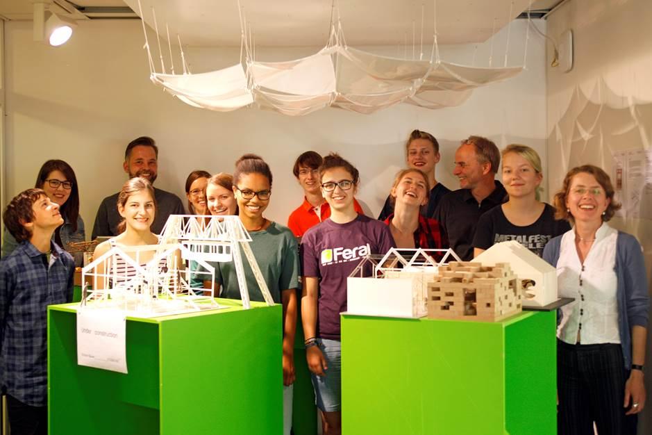 Die Forschungsgruppe Wohnen des 2° Campus 2015 © Arnulf Morascher