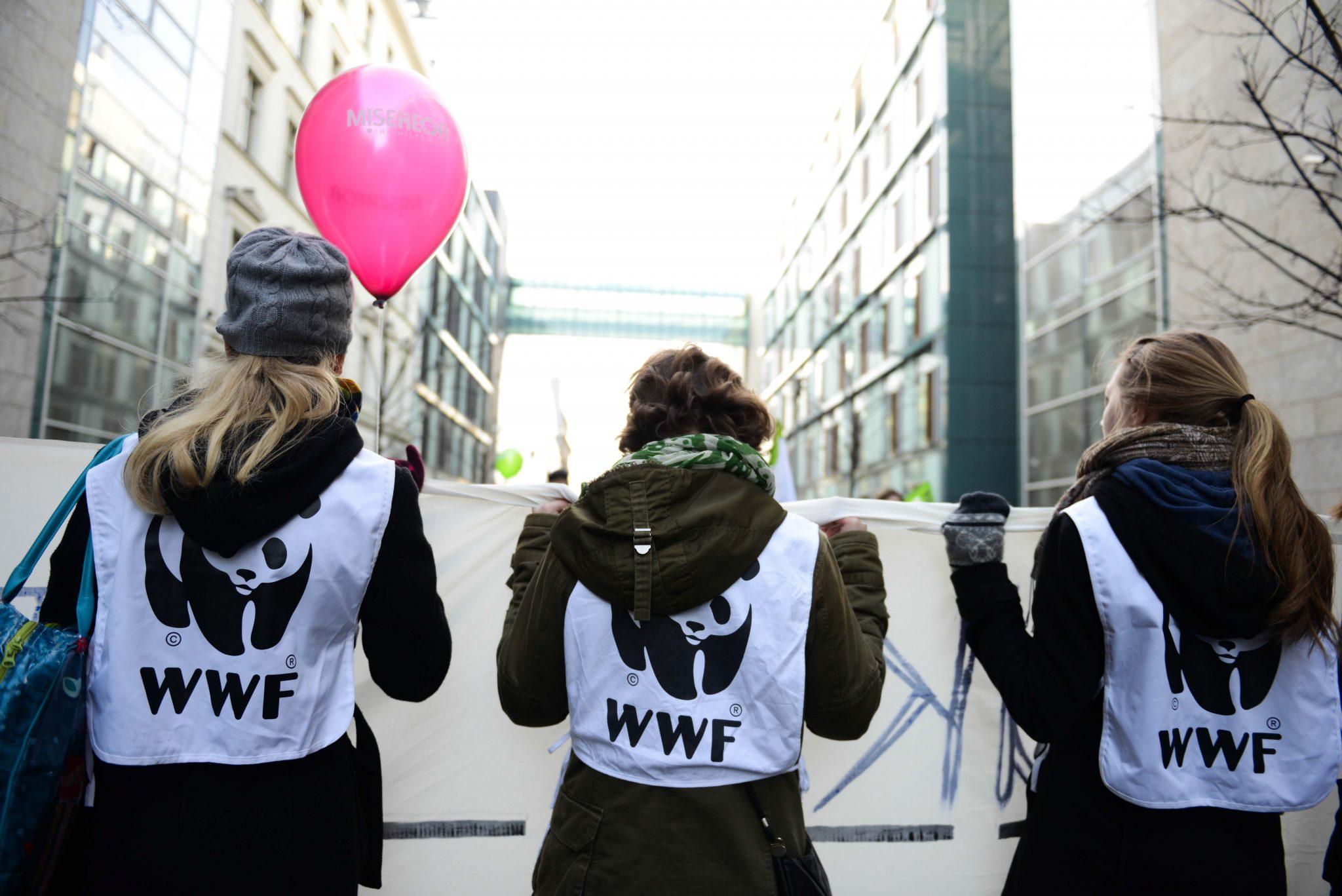 Zusammen gegen TTIP © Peter Jelinek / WWF