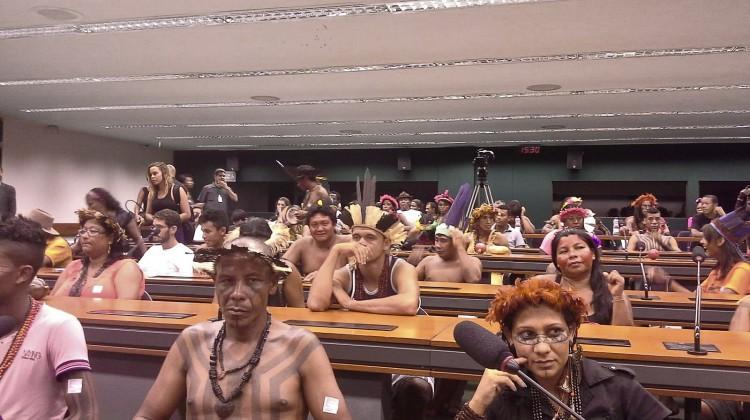 Indigene besetzen die Kommission des Unterhauses © WWF Brasilien