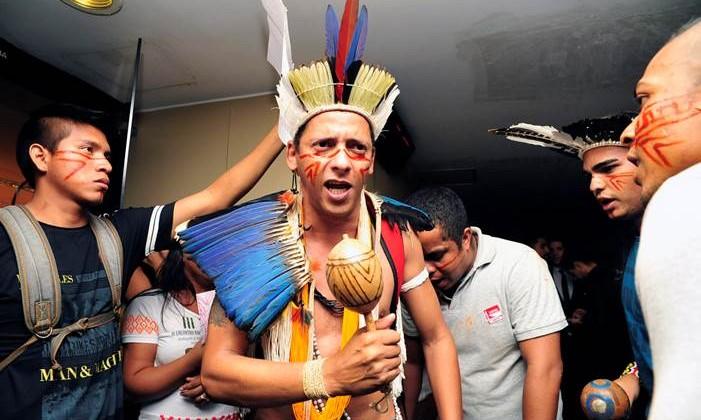 Proteste vor der Abstimmung zu PEC © Luiz Alves / Câmara dos Deputados