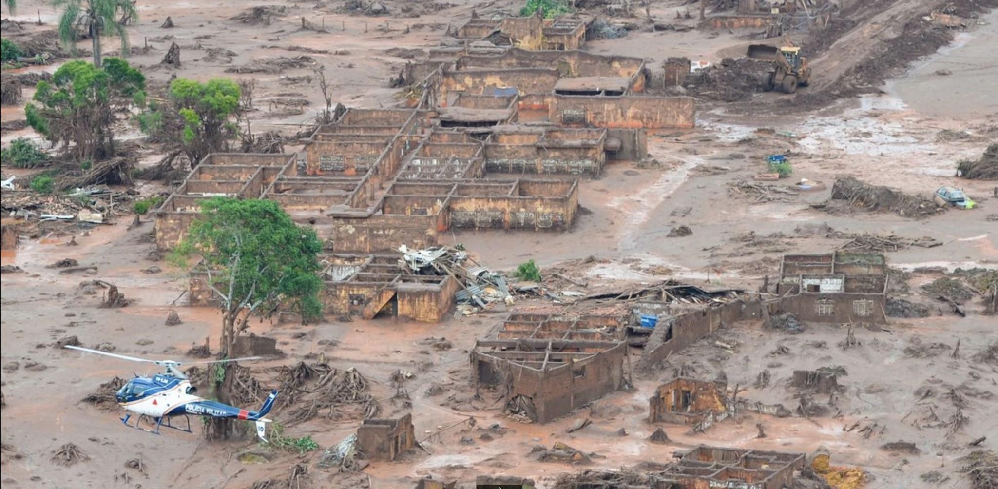 Unter Giftschlamm begraben © Antonio Cruz/Agência Brasil