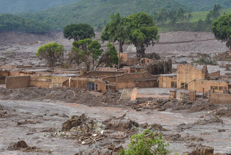 Rio Doce: Dorf unter Giftschlamm © Antonio Cruz/Agência Brasil