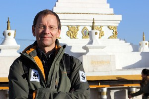 WWF-Kollege Markus Radday in Ulan Bator