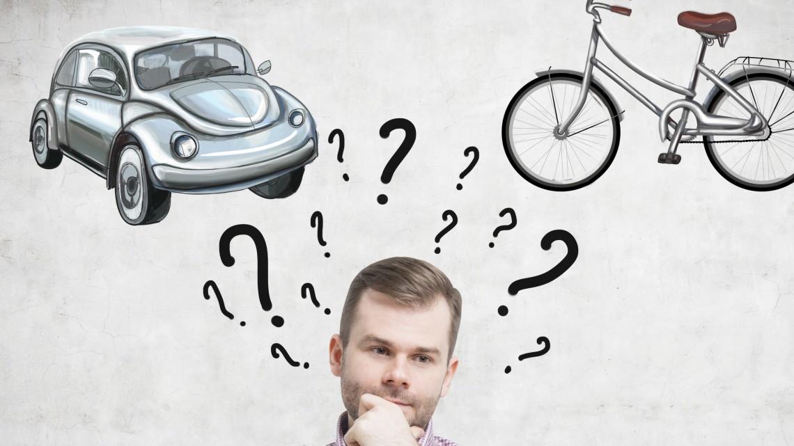 Mehr Fahrradfahren, besser Essen, weniger Fliegen? Was sind eure guten Vorsätze? © iStock/getty