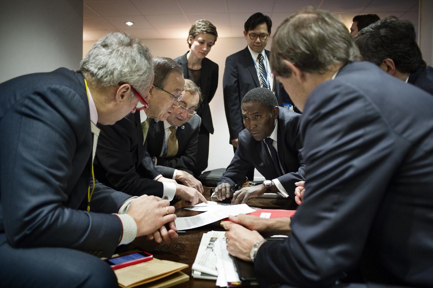 Die Suche nach dem Kompromiss CC0 1.0 , COP PARIS, http://bit.ly/1RjQiET