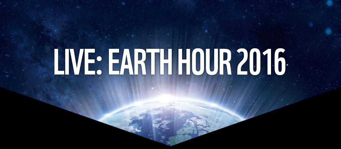 Die WWF Earth Hour 2016 findet am Samstag, den 19. März um 20:30 Uhr weltweit statt.