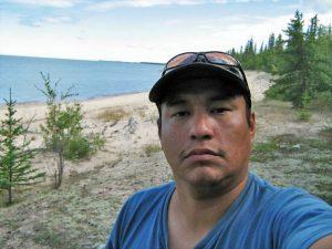 Mike Mercredi von den Athabasca Fort Chipewyan First Nations, einem Indigenen-Volk südlich von Fort McMurray in Westkanada