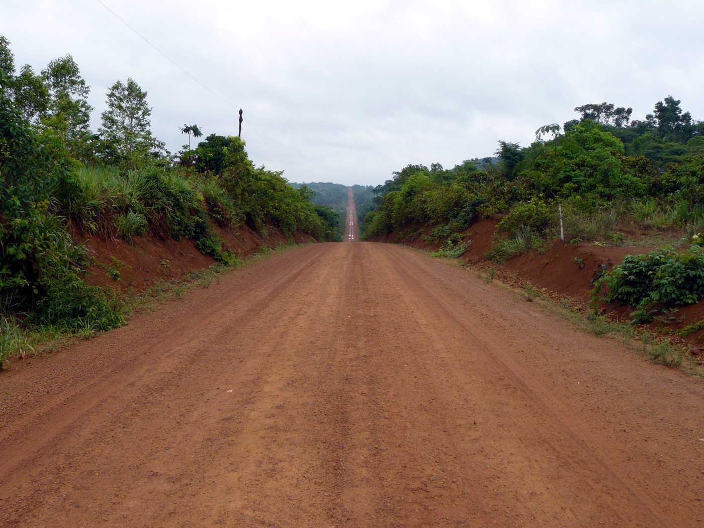 Über tausende von Kilometern führt die Strasse quer durch den brasilianischen Amazonas