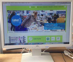 Label-online hat über die Jahre eine solide Datenbank aufgebaut.
