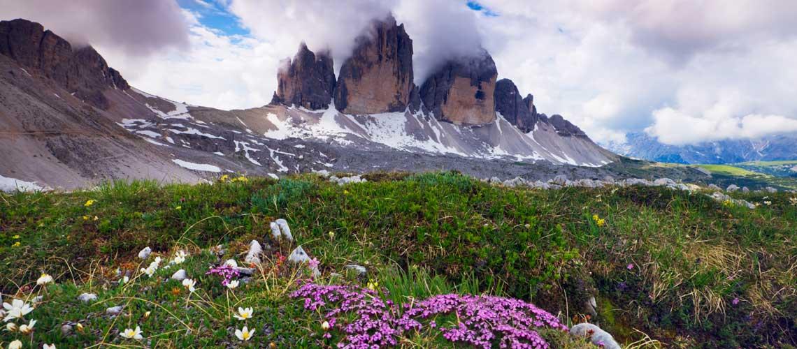 Europas Naturschutz-Gesetze gelten überall, auch in den Dolomiten © Wild Wonders of Europe / Krahmer / naturepl.com