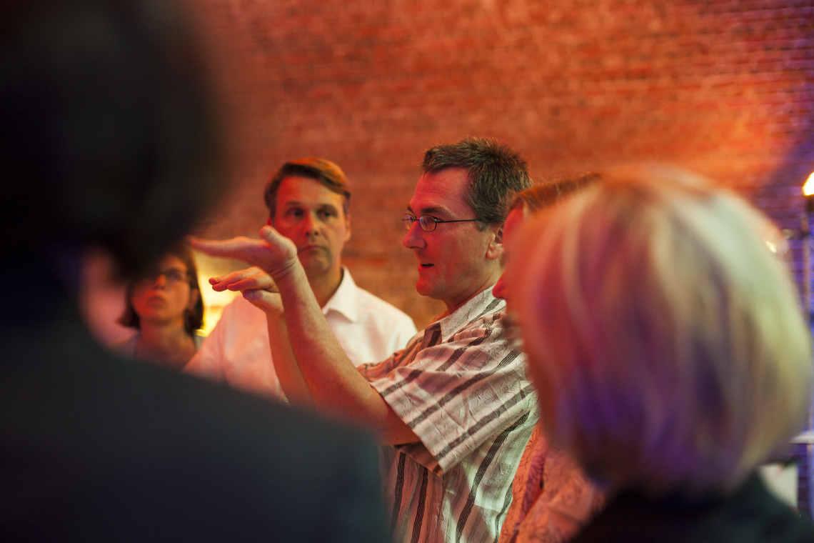 Energiewende: Engagierte Diskussion mit Craig Morris über Energie in den USA auf der Veranstaltung von WWF und Lichtblick in Berlin