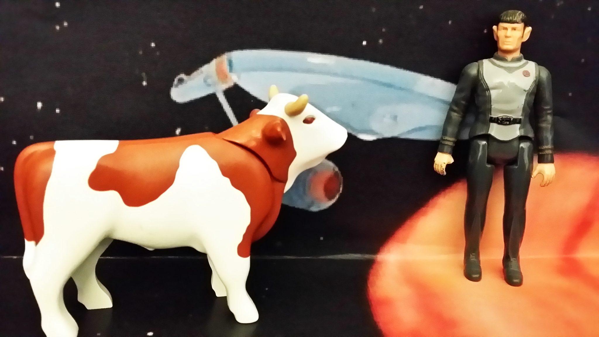 Kuh der Woche unterwegs im Stra Trek Uniuversum auf der Suche nach einer Zukunft