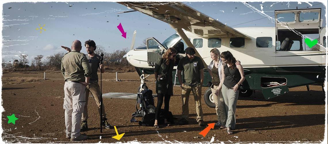 Von Selous nach Songea: Ein Buschflugzeug bringt Jodie, Kelly und Melanie weiter