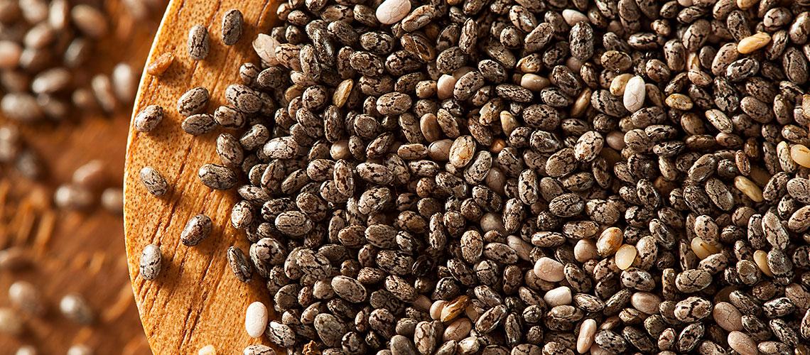 Chia-Samen: Was ist dran am Trend-Lebensmittel? WWF-Experte Markus klärt auf - zum Beispiel über Leinsamen, regional und genauso gut.
