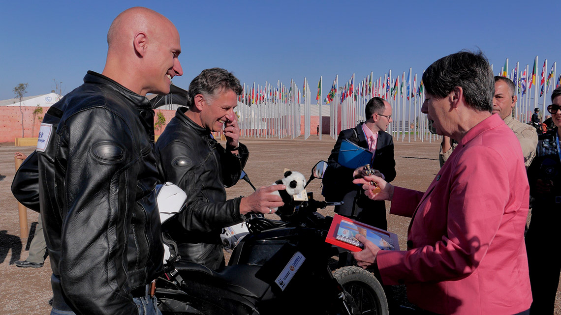 Auch die Bundesumweltministerin Barabara Hendricks reiste nach Marrakesch. © Michael Schehl / WWF