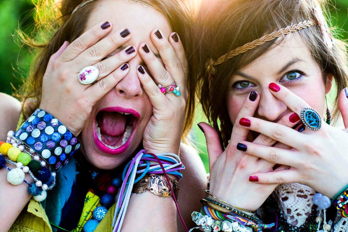 Festival Sommer mal anders: zwei Mädchen auf den change days