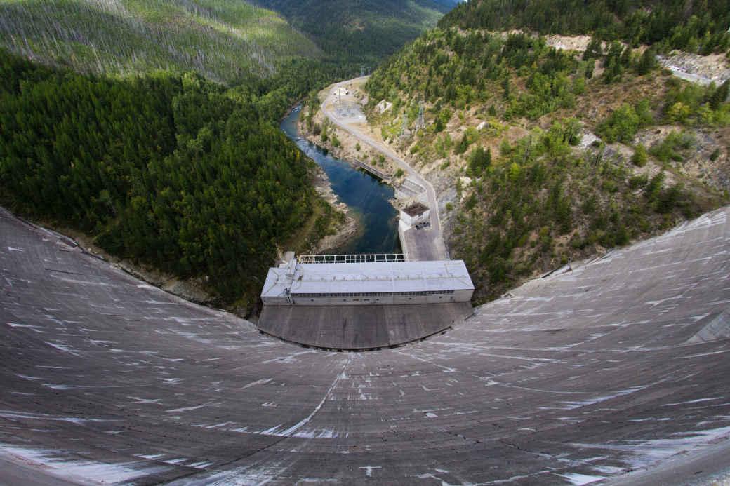 Wasser Staudamm