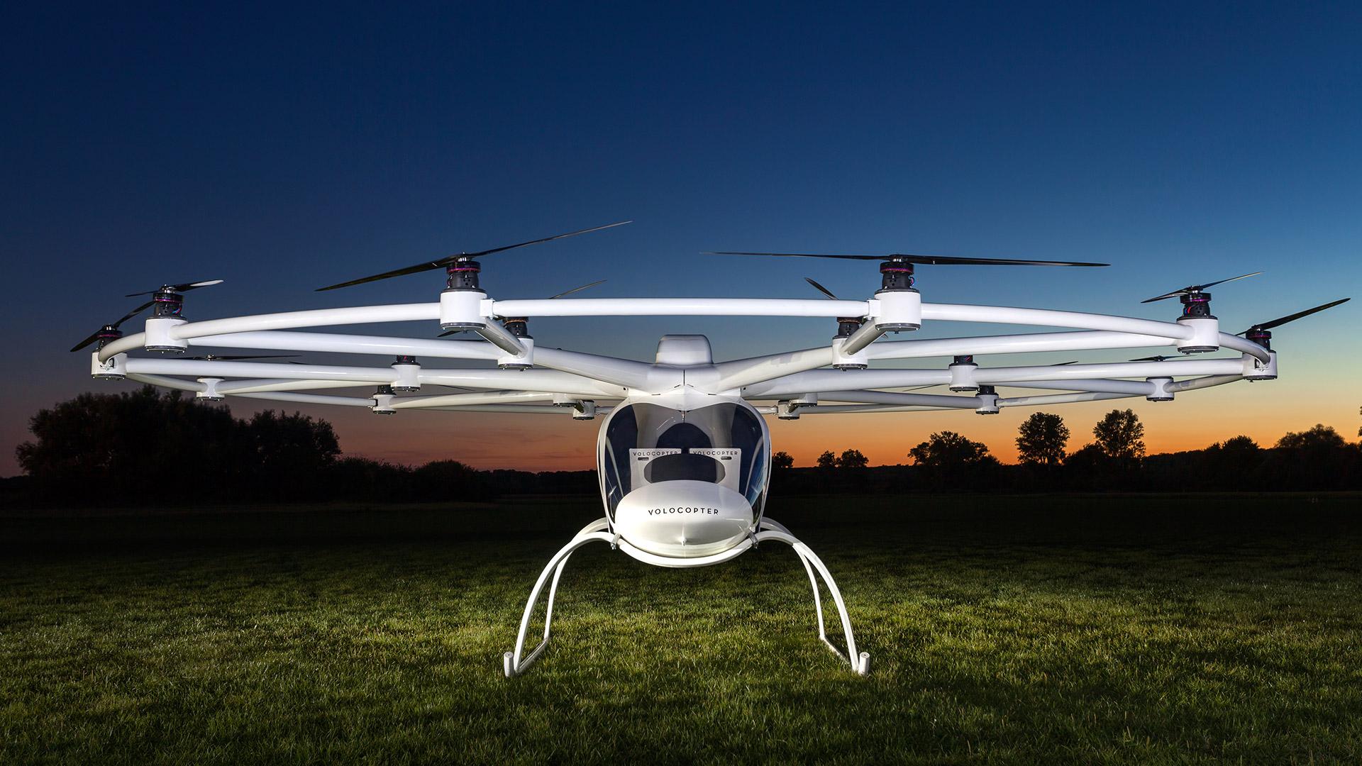 Velokopter Lufttaxi: Die zukunft gejhört der Elekromobilitäte