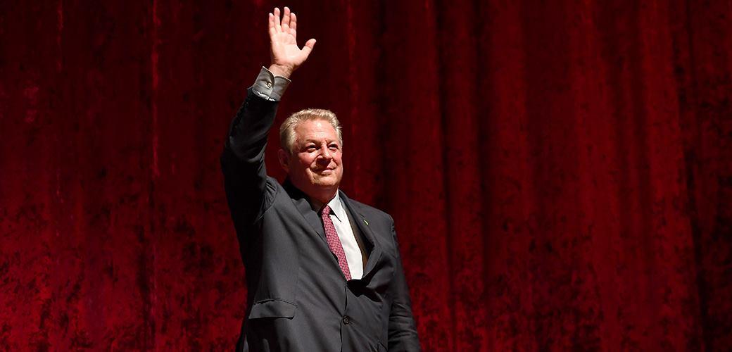 Al Gore bei der Europa-Premiere seines neuen Films © Matthias Nareyek/Getty Images for Paramount Pictures