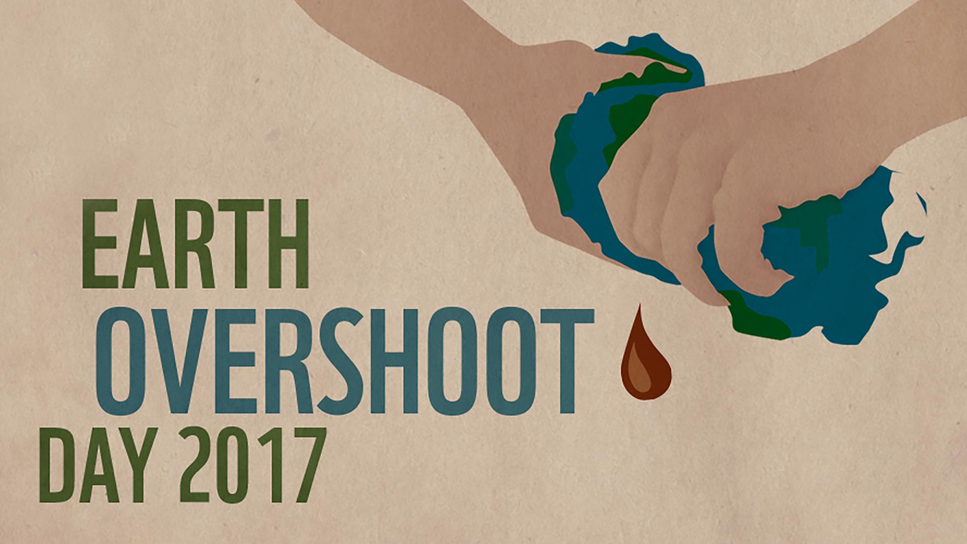 Eine Welt ist nicht genug. Der Overshootday rückt jährlich näher. © WWF