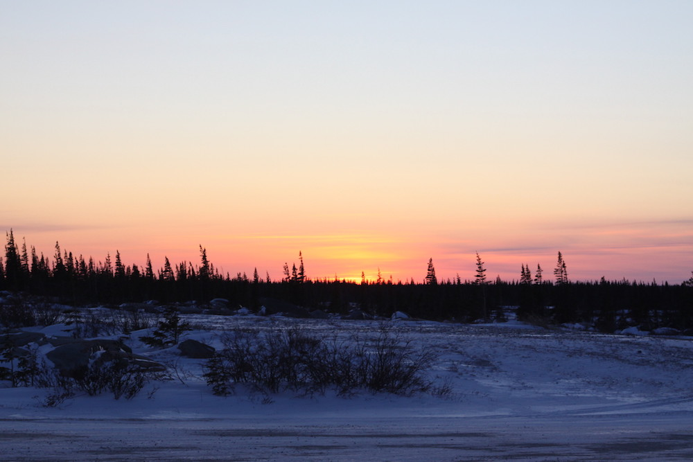 Heute war ein guter Tag und am Ende werden wir noch mit diesem Sonnenuntergang belohnt © Melanie Gömmel / WWF