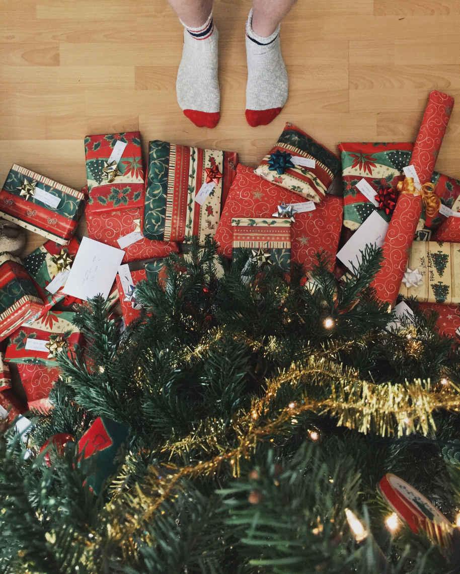 Weihnachten: Geschenke unterm Baum