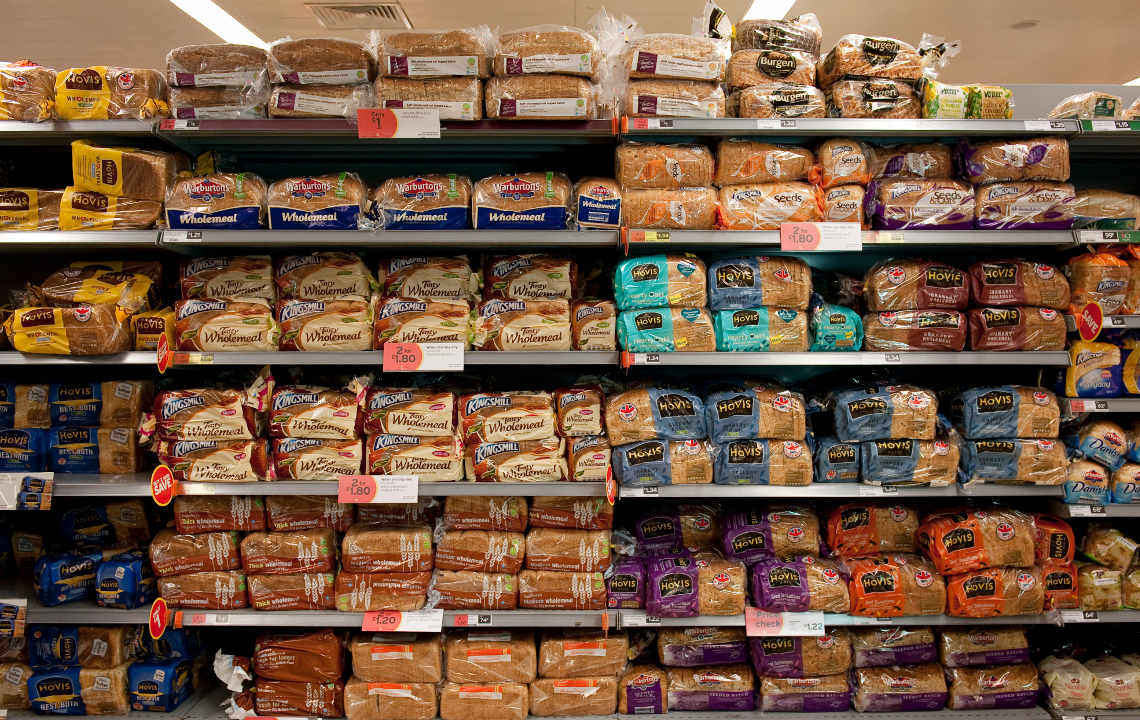 Palmöl-Check: Regal im Supermarkt
