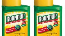Glyphosat: Roundup Packung