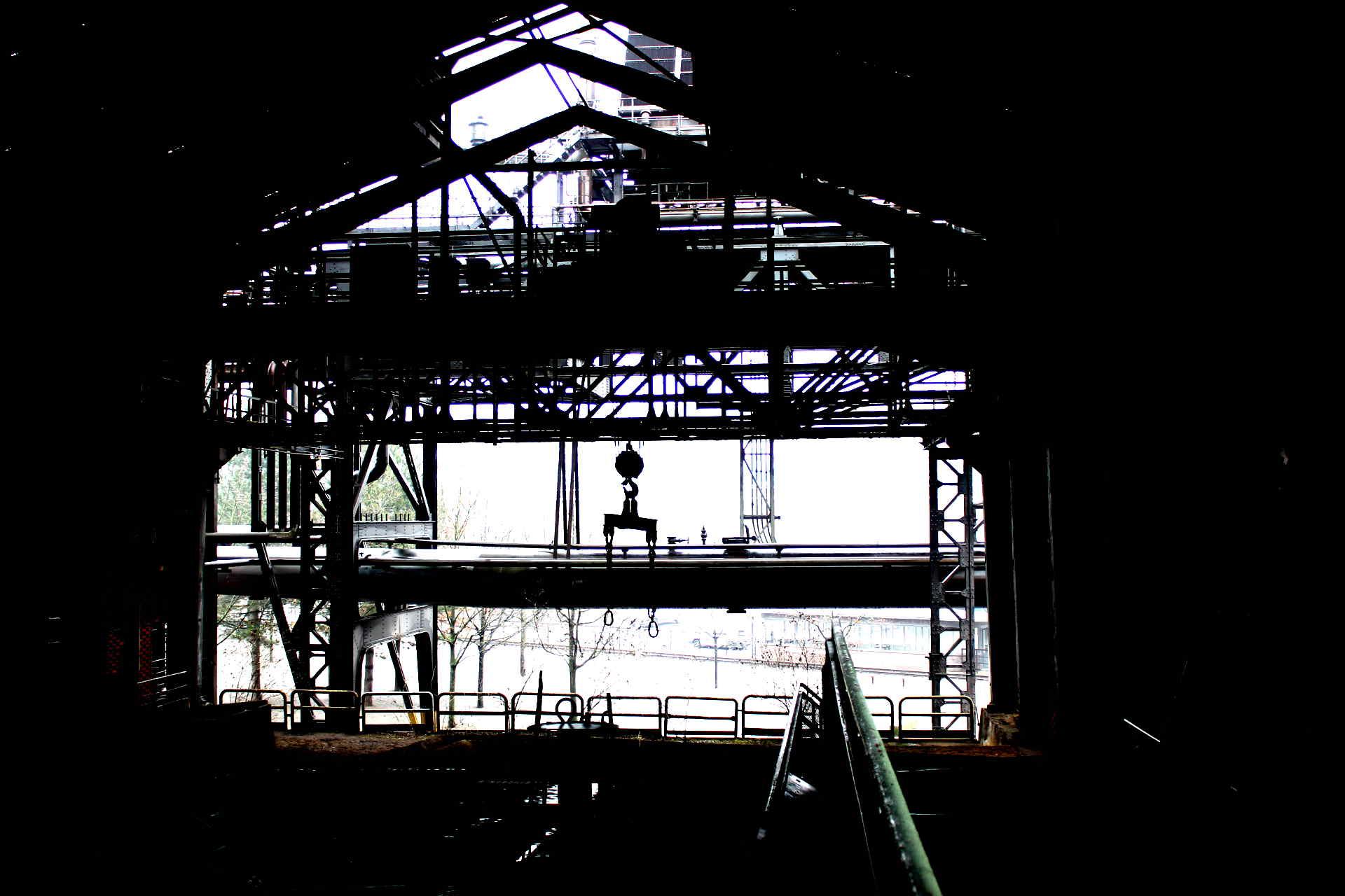 Kohleaausstieg: Halle der alten Zeche Zollverein