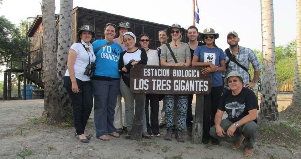 Das ist das internationale Sulu Team mit Kolleginnen aus Paraguay, Kolumbien, Bolivien und Deutschland. © WWF / Ilka Petersen