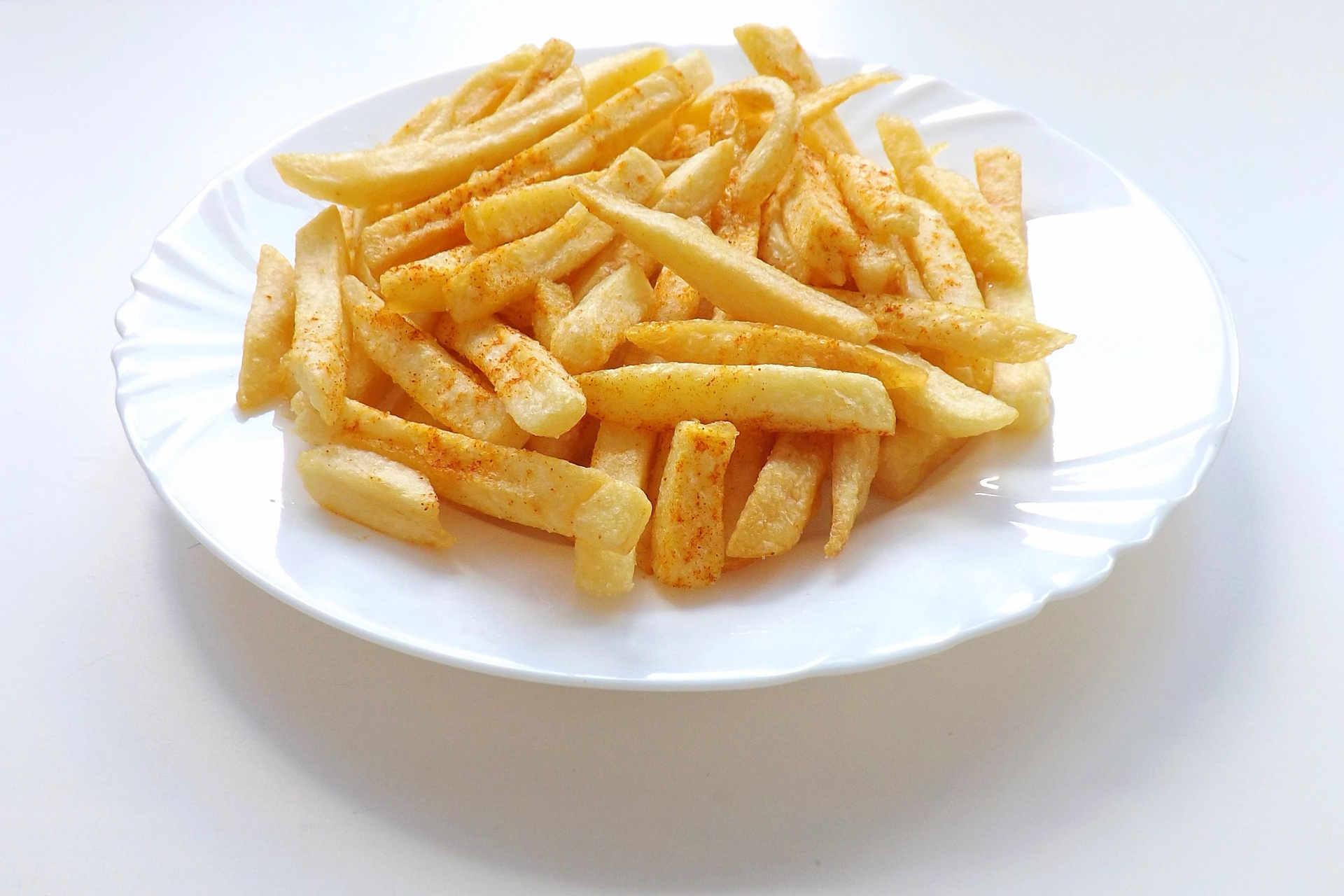Klimawandel Pommes Frites werden kleiner