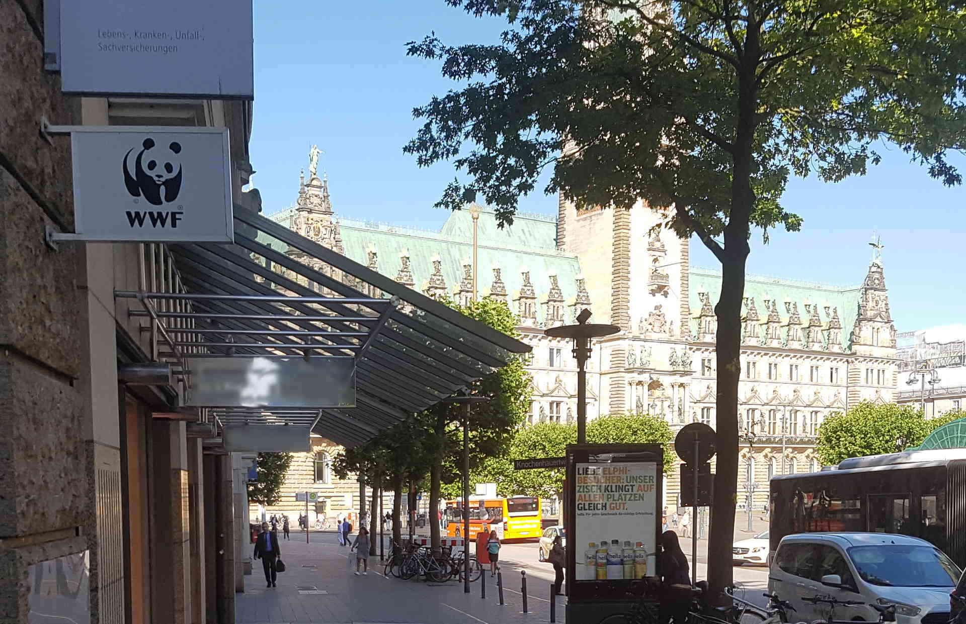 Hier arbeitet der WWF Trainee: WWF in Hamburg