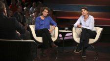 Über Plastikmüll reden: Marcella Hansch und Heike Vesper bei Lanz im Studio