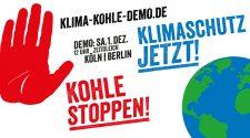 Klima-Demo Plakat für den 1. Dezember
