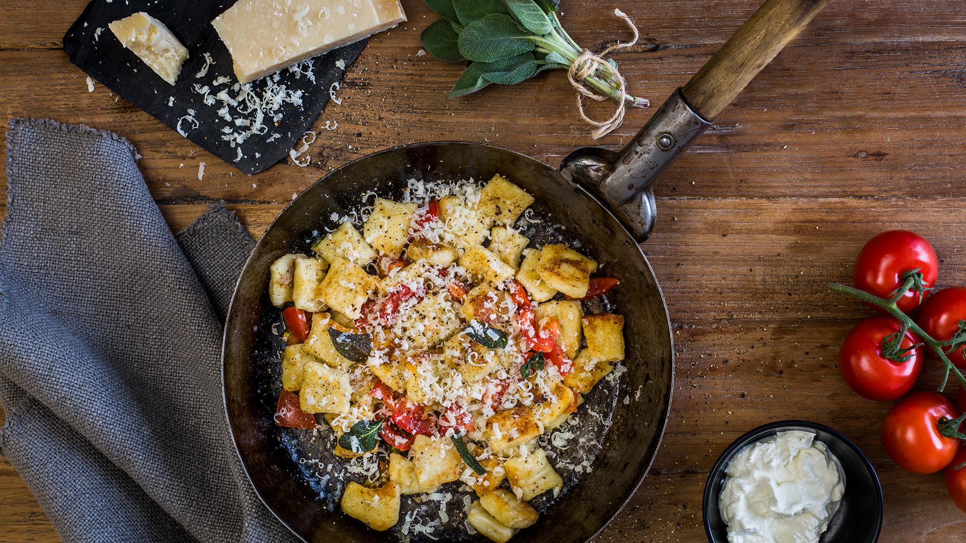Gnocchi mit Ricotta und Salbei © Edeka