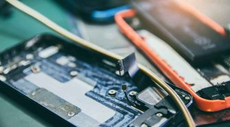 Elektroschrott Handy
