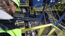 Wie funktioniert Plastik Recycling? Tönsmeier Anlage in Halle © WWF