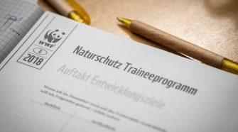 Das Naturschutz-Trainee-Programm des WWF Deutschland und der Allianz-Umweltstiftung. © Daniel Seiffert