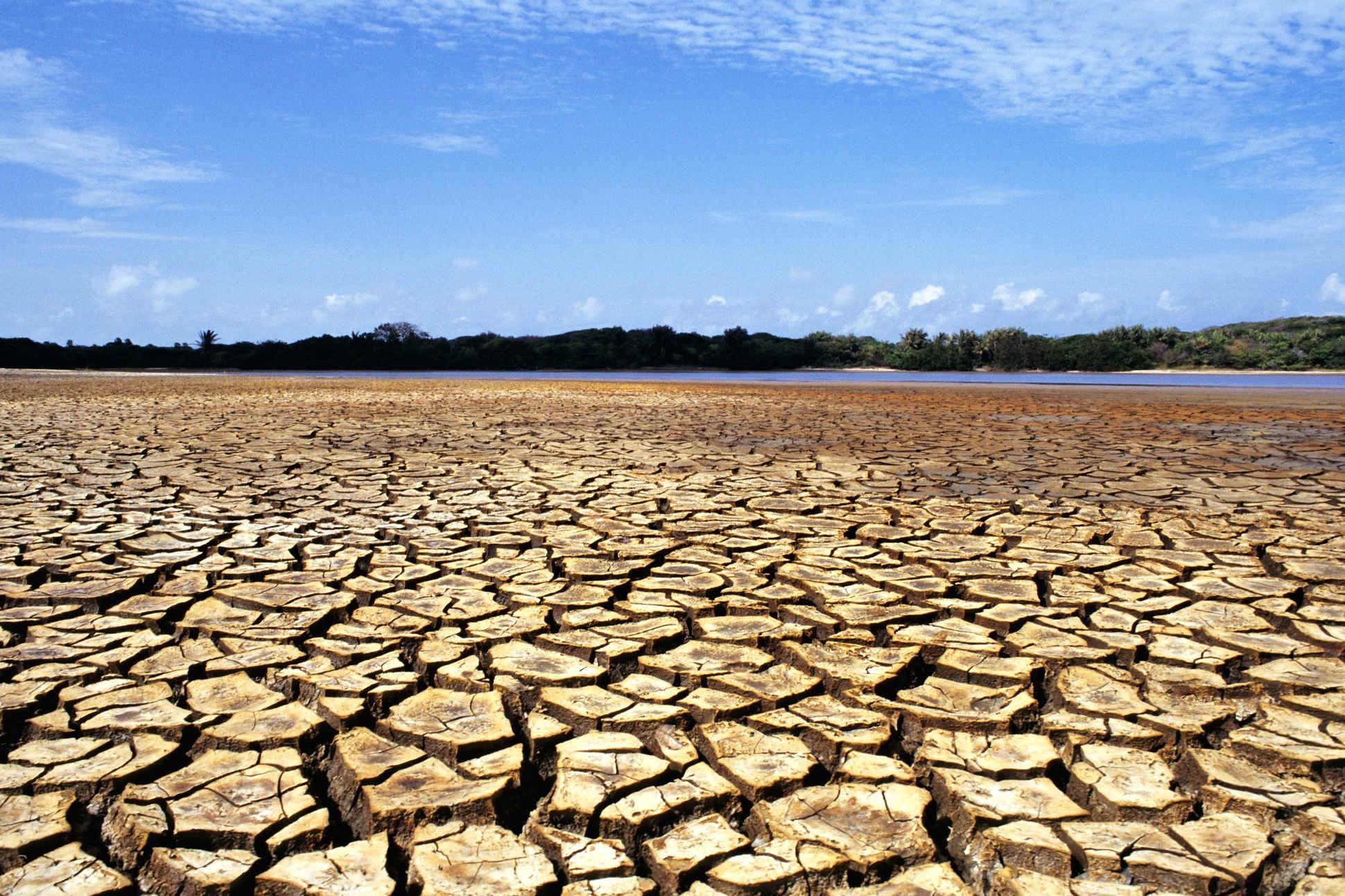Wenig Wasser: Trockenflächen am Amazonas