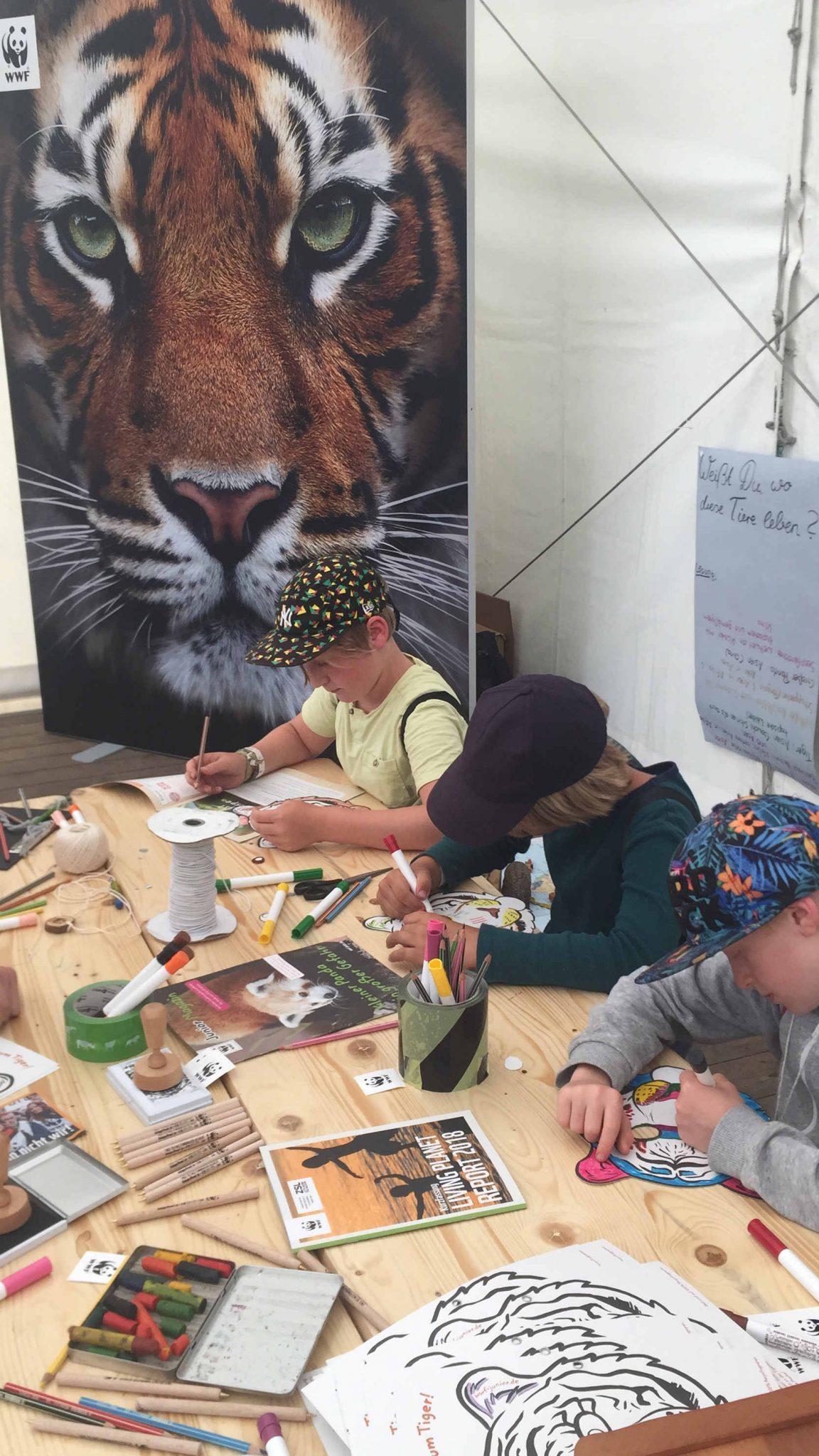 A summer`s tale Festival 2019: WWF Zelt