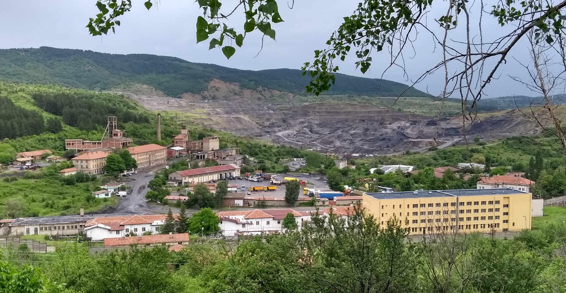Strukturwandel Kohleaussteig Bulgarien: Mine und Gefängnis in Bobov Dol