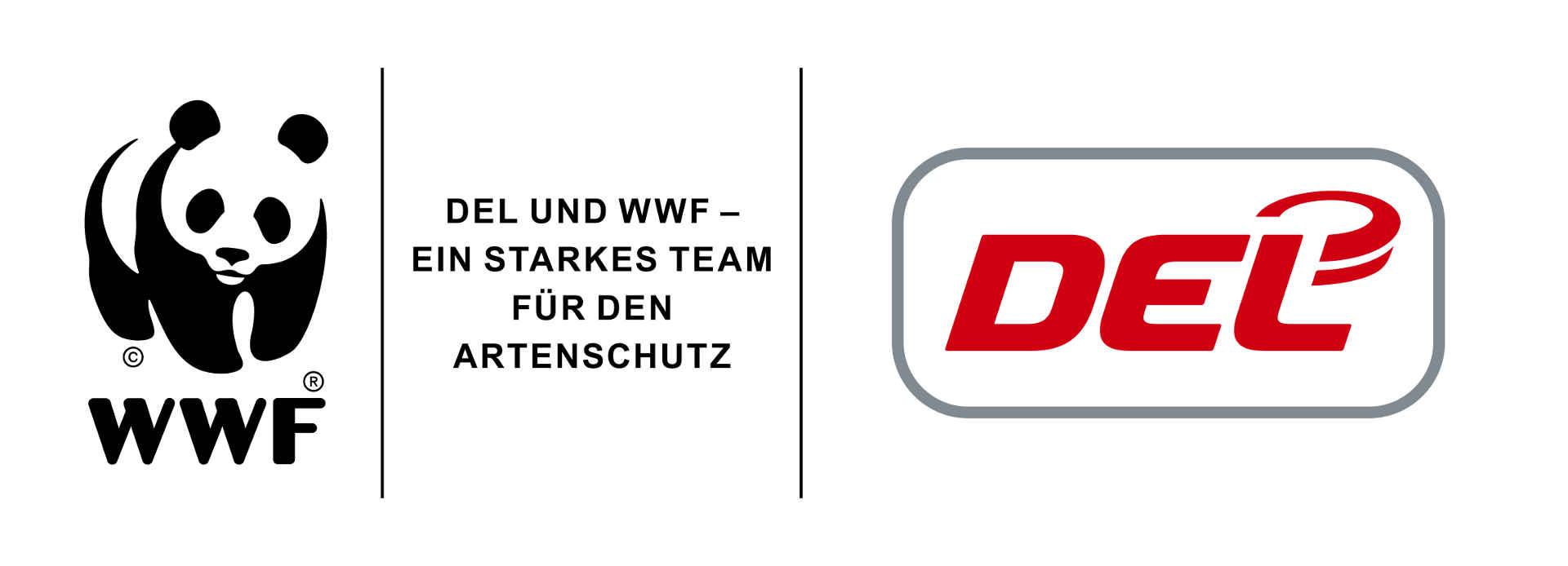 Logo WWF DEL Kooperation