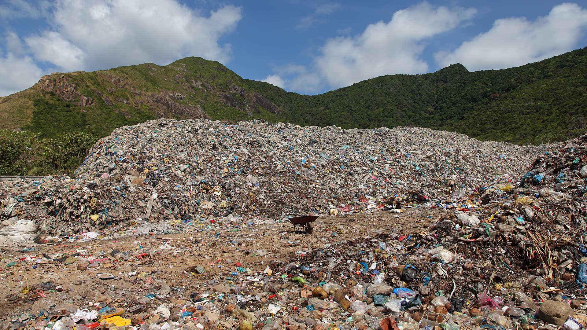 Plastik Vietnam: Müllkippe