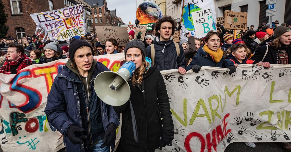 Klimatreik Berlin Foto: Jörg Farys / WWF Deutschland