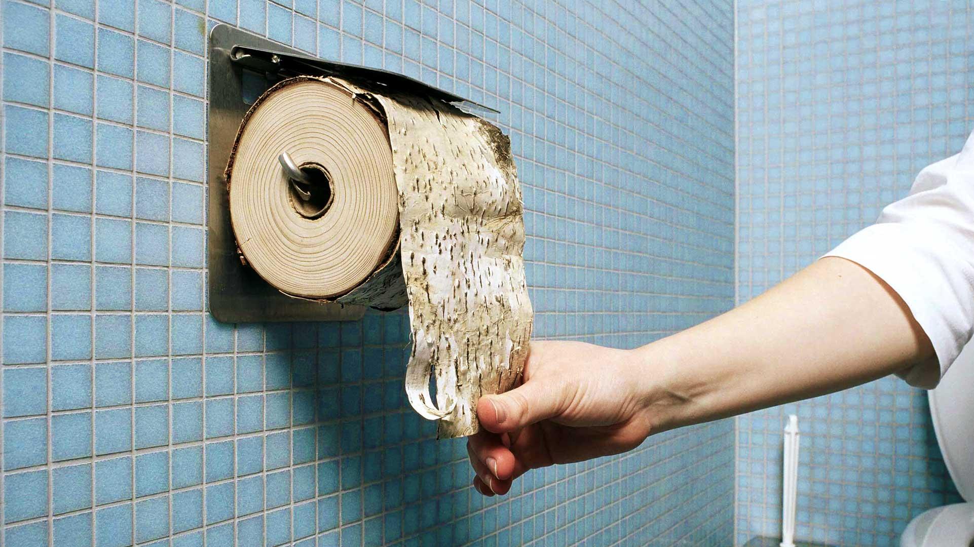 Toilettenpapier wird zumeist aus schnell wachsenden Holzarten hergestellt. © Kurt Prinz / WWF